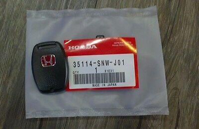 JDM Red H Type R Key Fob Case Back Cover HONDA CIVIC ACCORD FA5 FG2 FB6 CRZ OEM