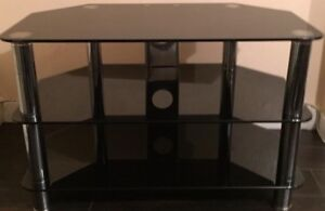 Glass tv stand $75 obo