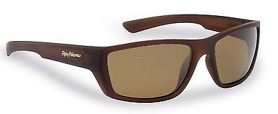 New Polarized Flying Fisherman Sunglasses Tailer Matte Brown