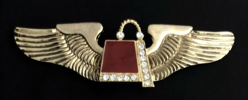 Aviation Wings with Jeweled Shrine Fez (SHR-AVW)