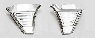 Seiten Abdeckung (2 St. Batterieabdeckung / Seitendeckel für BMW R 75 60 50 /5-Serie Edelstahl neu)