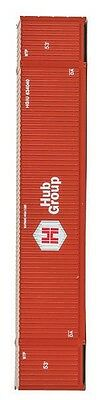 Walthers Container   Hub Group   Red   53 Ft  Ho  New Packaging