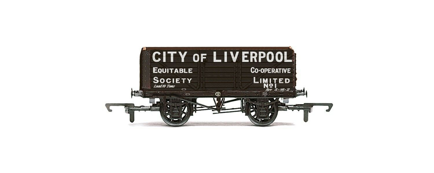 "Hornby Freight Wagon ""City of Liverpool"" R6598"