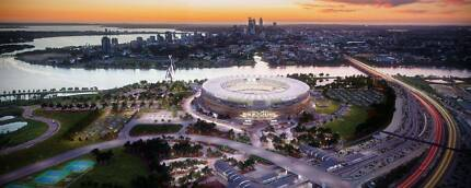 WANTED: 2x Perth Stadium Opening Day Tickets From 12pm