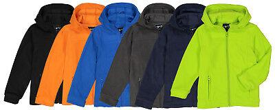 The Earth Gear Boys Polar Fleece Jacket w/ Hood
