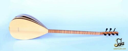 TURKISH  LONG NECK MAHOGANY BAGLAMA SAZ FOR SALE CSL-113