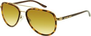 michael kors aviators h0tv  Michael Kors Women's Gradient Playa Norte MK5006-10342L-57 Tortoiseshell  Aviator