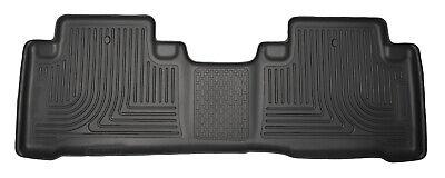 Husky Liners 19401 WeatherBeater Rear Floor Mat Black for 2014-2019 Acura MDX