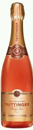 Taittinger Rose` Champagner 3x 0,75L