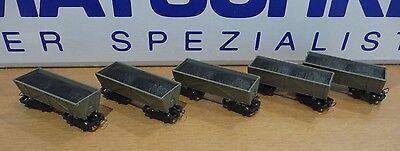 Roco 34610 Feldbahnloren 5 Stück, gebraucht, Spur H0e