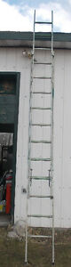 CONSTRUCTION DUTY 24' ALUMINUM EXTENSION LADDER. REDUCED!