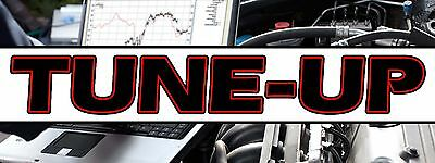 Tune-up Banner 18x48 Free Shipping Customization Ready To Hang