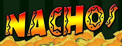 Nachos Banner 18x48free Shipping Customization Ready To Hang