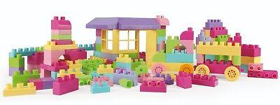 Bauklötze Bausteine Pink 102 Stück in Box