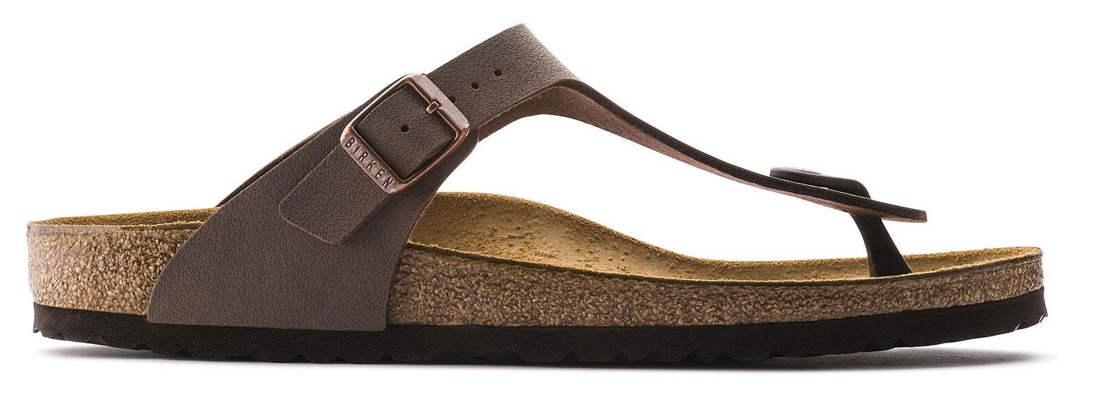 4f94612a12a Birkenstock Women s Gizeh Sandal Birkibuc Mocha 37 - 43751 for sale ...