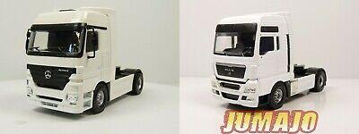 LOT 2 CAMIONS JOAL Tekno 1/50 tracteur : MAN TGX V8 +...