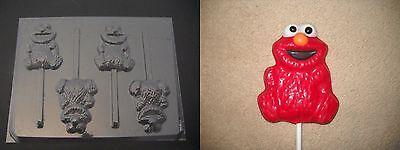 hocolate Candy Soap Crayon Mold (Elmo Candy)