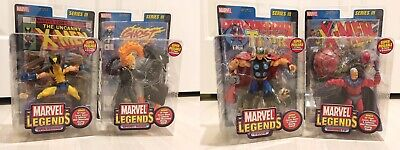 Toy Biz Marvel Legends Series 3 Full Set Ghost Rider Thor Magneto Wolverine New