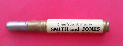 Vintage Advertising Bullet Pencil Smith and Jones Store Richmond MO