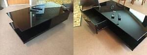 Black gloss quality coffee table, 120cm x60cm x 30cm, Launceston Launceston Area Preview