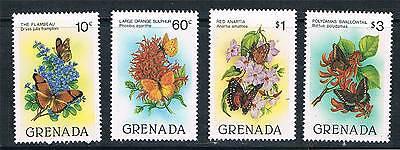 Grenada 1982 Butterflies SG 1179/82 MNH