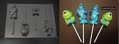 MONSTERS INC MIKE SULLY Lollipop Chocolate Soap Candy Gummy Mold