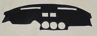 fits 1979-1983 Datsun Nissan 280ZX  dash cover mat dashboard cover black BLACK - Nissan 280zx Dash
