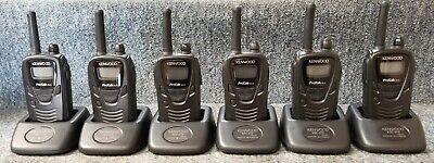 Kenwood Protalk Xls Business Tk-3230-k Refurbished Set Of 6 Radios W New Battery