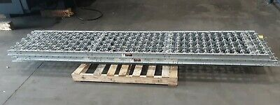 Lot Of 3 Gravity Roller Conveyor 10 22 Section 585taw
