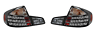 FITS INFINITI G35 SEDAN 2003-2004 BLACK TAILLIGHTS TAIL LIGHTS REAR LAMPS SET