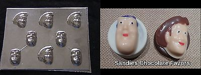 WOODY BUZZ LIGHTYEAR Toy Story Face Bite Size Cupcakes Chocolate Soap Candy Mold