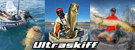 ULTRASKIFF -THE WORLDS #1 PORTABLE ROUND BOAT $2999+GST