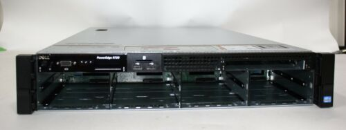 "New Dell R720 3.5""x 8 bay empty chassis w/ backplane cables fans 2 risers VDFWH"