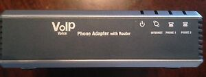 Linksys spa-2102 VOIP phone adapter / router