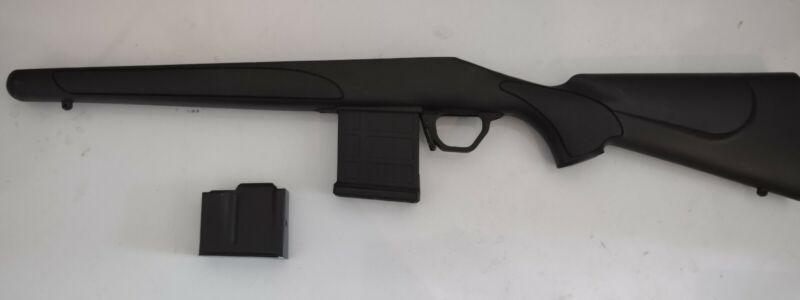 Factory Poly Remington 700 SA Stock with Magpul Magwell and Mags no pad