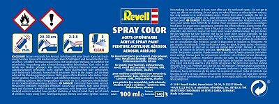 (100ml=7,49€) Revell Spray Color, Acryl-Sprühfarbe, 100 ml, in 32 versch. Farben