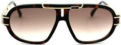 Cazal Damen Herren Sonnenbrille MOD.8018 COL.003 64mm havana gold G AB2 6