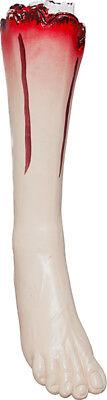 Orl - blutiger Fuß als Deko Halloween Deko und zum Zombie Kostüm ()
