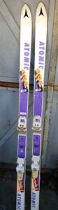 Atomic ARC Downhill Skis 160cm w/Marker Bindings for Teens etc.