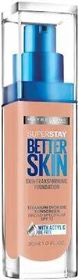 Maybelline Superstay Better Skin Foundation U CHOOSE COLOR & QUANTITY 1-5 (Best Maybelline Liquid Makeups)