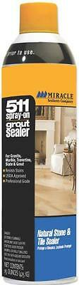 NEW MIRACLE SEALANTS 15 OZ 511 SPRAY-ON PROFESSIONAL GROUT SEALER 7755911 15 Ounce Grout Sealer