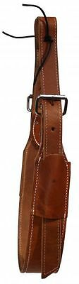 Medium Oil Rear Girth or Flank Cinch With Billets Roller Buckles New Horse Tack