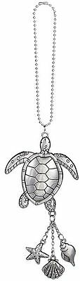 Car Charm - Sea Turtle - Hang from Your Rear View Mirror!