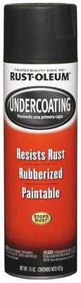 Rubberized Undercoating,Black,15 oz RUST-OLEUM 248657
