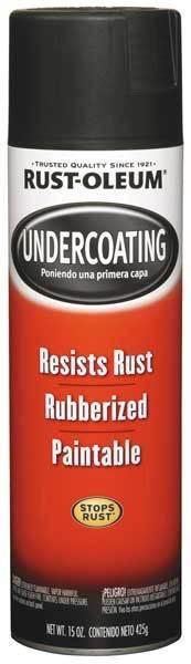 RUST-OLEUM 248657 15 oz. Rubberized Black Undercoating