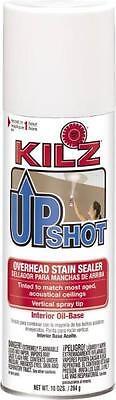 (NEW  KILZ 10007 UPSHOT 10OZ  OIL SPRAY CEILING STAIN KILLER PRIMER PAINT 6571111)