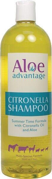 Citronella Pet Shampoo Concentrate w/Cintronella Oil & Aloe All Animals 33.8oz