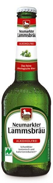 12 x 0,33L Lammsbräu Bio Alkoholfrei Glutenfreies Bier Craftbeer Urban (12149)
