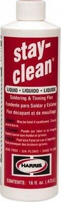 Flux Liquidsoldering Tinning Flux 16 Oz. Stay-clean