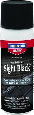NEW! Birchwood Casey Sight Black 1.25 OUnce Aerosol 33915